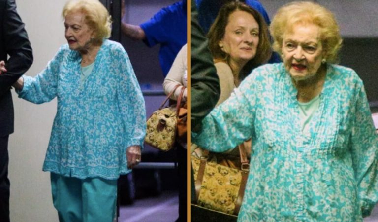 Betty White is 98 and she still manages to get around, proving the health news about her wrong.
