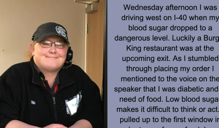 Woman's Facebook post goes viral after Burger King employee does this at the drive-thru