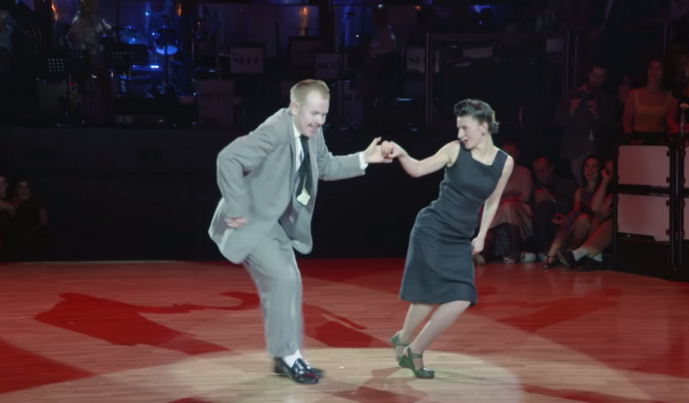Nowadays Swing Dancers Rock the Stage With Old School Moves.